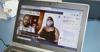 """Presidente Clícia exige respeito por parte da Administração em live no """"Gazeta Regional"""""""