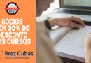 Parceria com o Centro Universitário Braz Cubas concede desconto de 30%