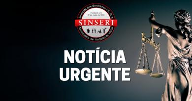 """Sinseri solicita e Justiça concede liminar para suspender efeitos de assembleia """"fantasma"""""""